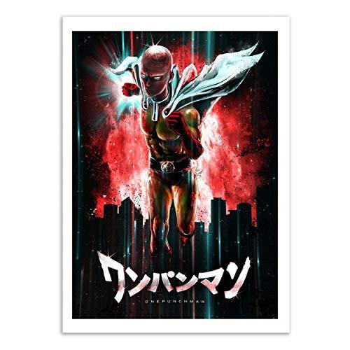 Wall Editions Art-Poster - One Punch Man - Barrett Biggers