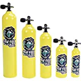 Catalina Pony Bottle Tanks, Yellow with Pro Valve