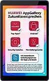 HUAWEI MatePad T8 WiFi Tablet PC da 8', risoluzione HD, 2 GB di RAM, 16 GB di memoria interna, Android 10, EMUI 10.0.1, con buono Amazon da 5 €, Deepsea Blue