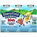 Stonyfield Organic YoKids Strawbana Low Fat Smoothies, 3.1 oz, 6 Count