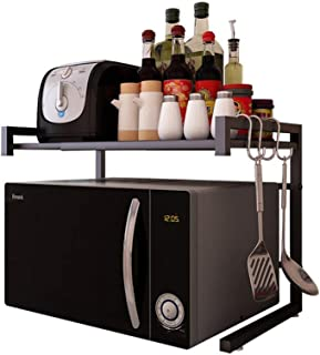 Vinteky Estante de Horno para Microondas Estantería de Cocina Ideal para Colgar Multifuncional Organizador Estantería Co...