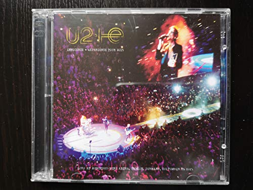 U2 LIVE IN BERLIN 2015 2CD set Innocence Experience World Tour
