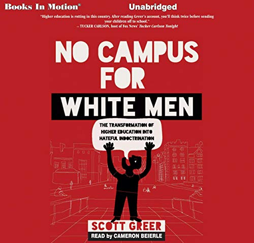 No Campus for White Men Titelbild