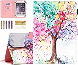 9-10.1 inch Universal Case, Dteck PU Leather Case Cover