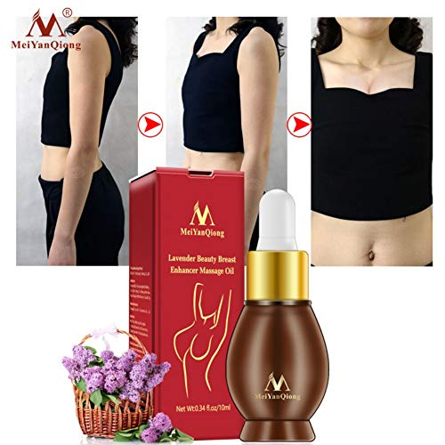 Meiyanqiong Breast Enlargement Massage Essential Oil Drops, Sexy Chest Lift Up Firm Enlargement Essential Oil 10ml Yiitay
