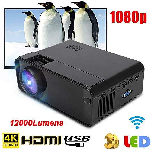Green stars 10.000 lúmenes HD 1080P HD LED proyector de Cine en casa Cine USB Multimedia HDMI