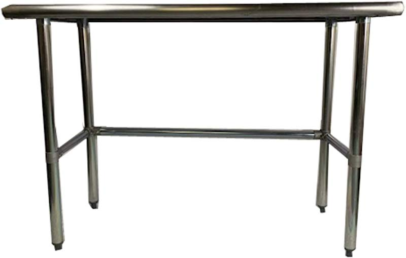 KPS Commercial Stainless Steel Work Table With Crossbar 24 X 60 NSF