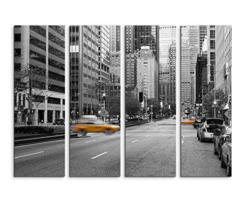 Paul Sinus Art Fotografia Naturale - Taxi Giallo a New York City, USA, 130x90cm