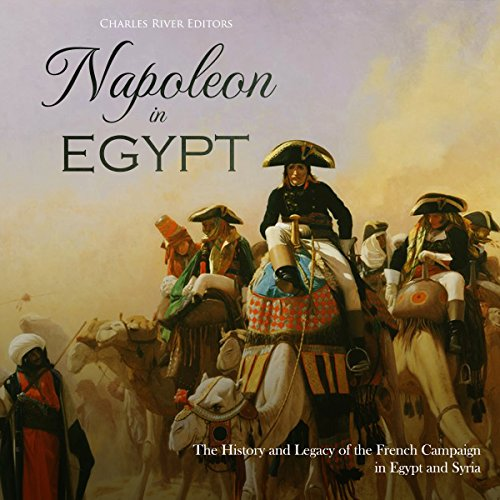 Napoleon in Egypt audiobook cover art