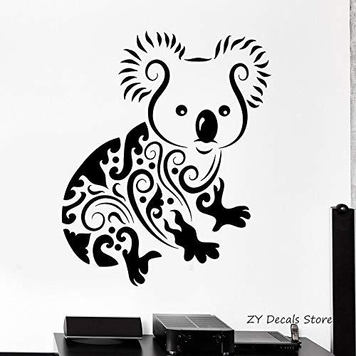 guijiumai Hund Katze Vogel Kaninchen Wandtattoo Für Zoohandlung Tier Tierarzt Vinyl Wandaufkleber Für Kindergarten Kinderzimmer Glück Decor42X51CM