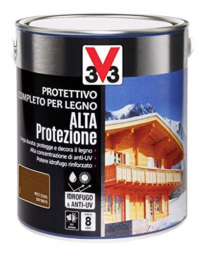 V33 Protettivo Completo Alta Protezione A Solvente Noce Scuro 2.5 l