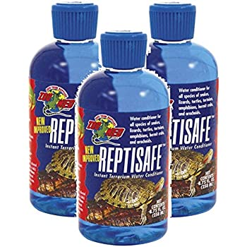Zoo Med ReptiSafe Water Conditioner, 8.75 oz (Pack of 3)