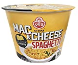[OTTOGI] MAC & CHEESE SPAGHETTI, Extra Creamy, instant cup ramen (130g) - 2 Pack