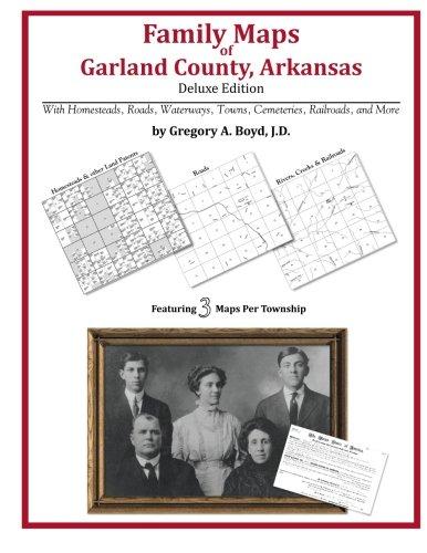 Family Maps of Garland County, Arkansas