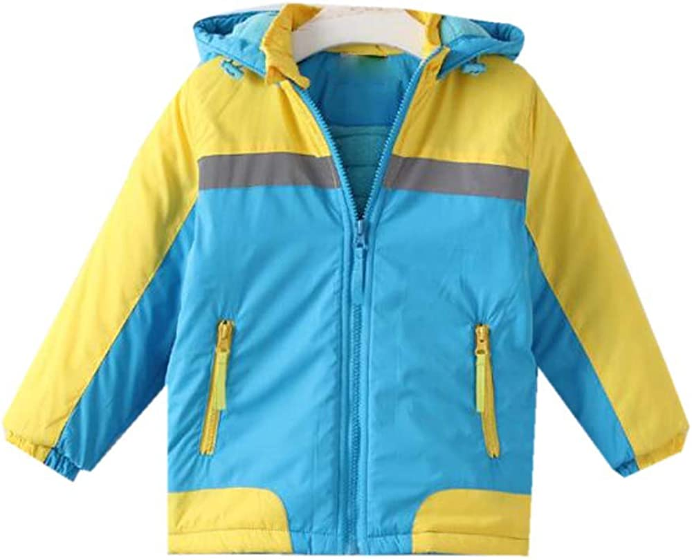 Naughtywing Boy's Color-Blocking Max 53% Fort Worth Mall OFF Fleece Winter Hoodie War Autumn