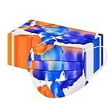 ᴍᴀsᴄᴀʀɪʟʟᴀs, YusellYu,50PC adultos desechables impresos Con elementos geométricos de teñido anudado (A)