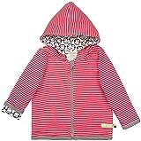 loud + proud Baby-Unisex Wendejacke aus Bio Baumwolle, GOTS Zertifiziert Jacke, Rot (Tomato to), (Herstellergröße: 74/80)