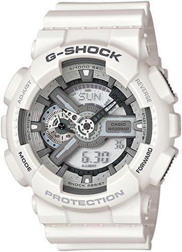Casio Reloj Analógico-Digital para Hombre de Cuarzo con Correa en Resina GA-110C-7AER
