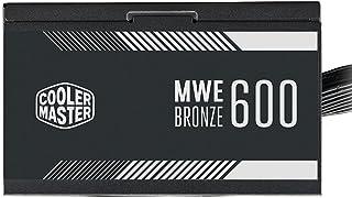 Fonte Cooler Master MWE Bronze V2 600W (com cabo de força BR), 80 Plus Bronze