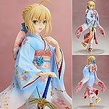 Lupovin 25cm Figura de acción de Fate Stay Night Saber Kimono de PVC Juguetes Colección Animado de...