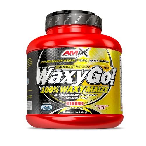 AMIX - Suplemento Deportivo - Amilopectina Waxy Go en Formato de 2 kg - Mejora el Rendimiento Muscular - Mantiene los Niveles de Glucógeno - Sabor Neutro