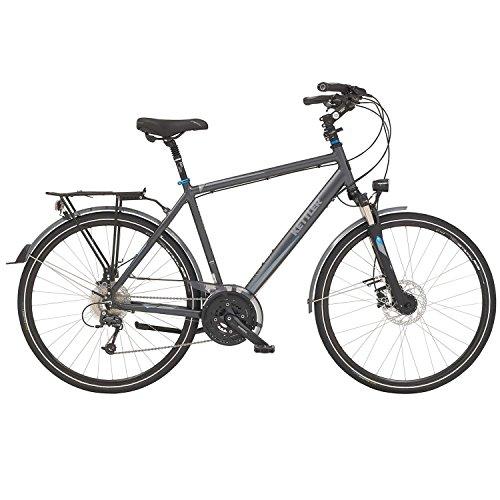 Kettler Traveller 7 Ergo Herren 27 Gang Trekking Fahrrad 2016, Farbe:Grau;Rahmenhöhe:55 cm
