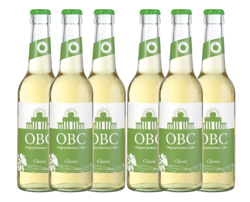 6 x OBC Classic - Original Berliner Cidre Classic
