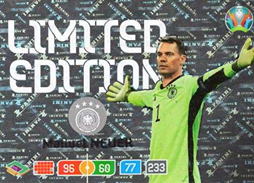 Panini ADRENALYN XL UEFA Euro 2020 Manuel Neuer (Germany) Limited Edition Card