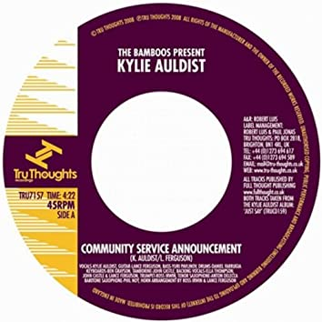 The Bamboos Present: Kylie Auldist (Community Service Announcement)