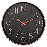 YYXDP Wanduhr Wohnzimmer Schlafzimmer 15 Zoll Uhr Quarzuhr Kreative Stumm Uhr