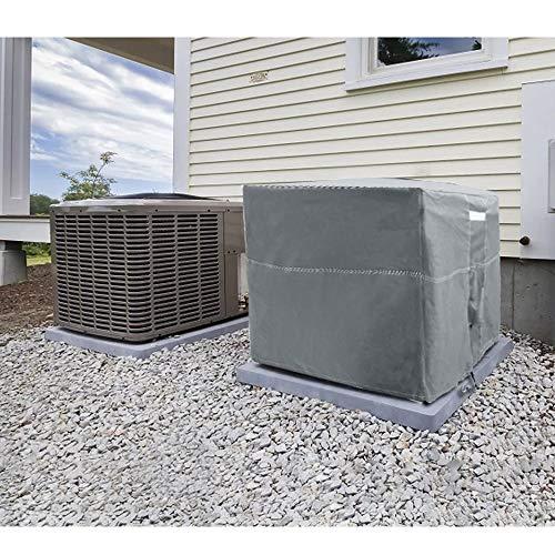 condenser cover winter - 1