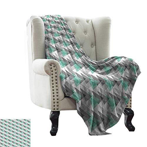 LsWOW - Manta de jardín para bebé, diseño de Mosaico de Cerezas, Tela acogedora y Duradera, Lavable a máquina