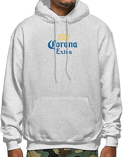 GDHGD Herren Hoodie Sweatshirt Corona Extra Bier Pullover für Herren