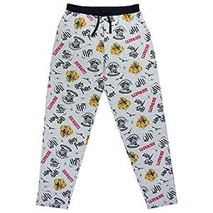 Pantalones de Harry Potter Hogwarts Crest los Hombres de Pijama Bottoms 3