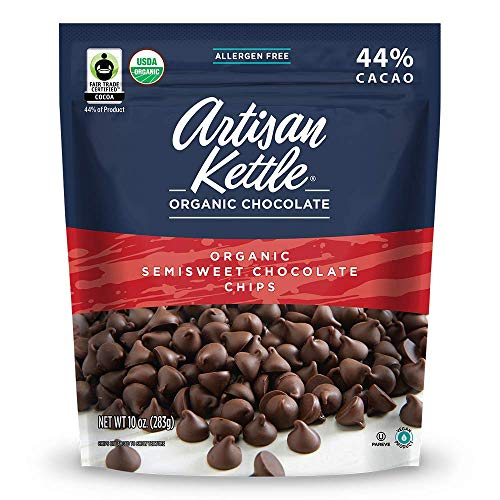Artisan Kettle Chocolate Chips  Organic  Semisweet  Case Of 6  10 Oz