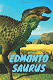 Edmontosaurus: Notebook With Dinosaur, Notebook For Notes, Kids Notebook, Lined (Cartoon Cover, 110 Pages,6 x 9)