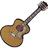 Parche bordado de guitarra acústica clásica española para planchar o coser