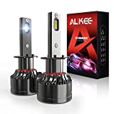 H1 LED Headlight Bulb, Aukee 110W High Power...