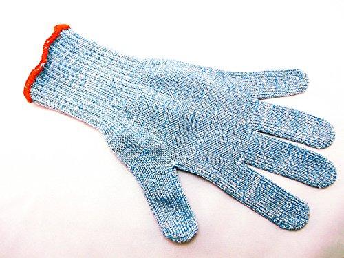 Gr 7 (Klein) Filetierhandschuh Filitierhandschuh Handschuh Schnittschutzhandschuh Schnittschutzhandschuhe Schnittschutz handschuh Stechschutz Stechschutzhandschuh Strickgewebe aus Kunststofffaser mit Draht fadeneinlage Metzger Metzgerei