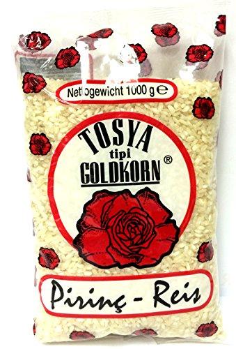 12 x 1 Kg Güllü Tosya Reis Rundkornreis Risotto - Tosya Pirinc