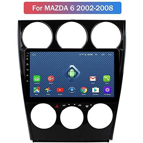 Android 9.0 Estéreo Doble DIN Jefe Unidad de Coche para el Viejo Mazda 6 2002-2008 GPS 9 Pulgadas de Pantalla táctil Multimedia Radio Receptor carplay DSP RDS