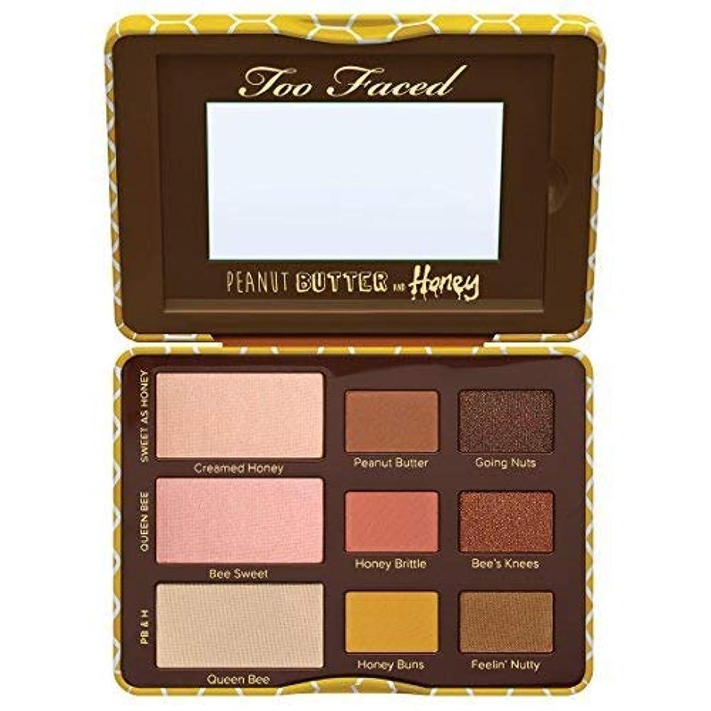 圧倒的解釈的軍団Too Faced Peanut Butter and Honey Eyeshadow Palette Collection 0.39 OZ [並行輸入品]