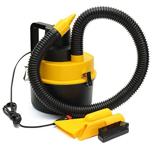 Angle-w Gama Alta 12V portátil húmedo/seco vacío Aspirador inflador Turbo Mano Mano para Coche/Tienda Diseño Elegante
