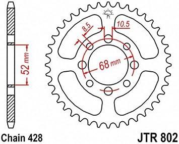 JT Sprockets JTR802.46 46T Steel Rear Sprocket