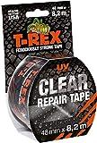 T-Rex Clear Repair – Ruban adhésif résistant invisible 820-48 – Pour fixer, réparer, sceller et protéger – Indéchirable et imperméable – Dimensions : 48mm x 8,2m – Couleur transparent