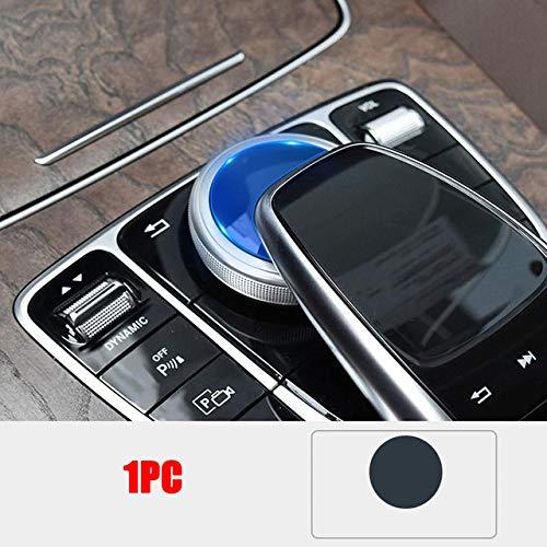 LUVCARPB Película Protectora Interior del Coche Consola Central Pantalla de navegación Protector de Pantalla Etiqueta de Engranaje, Apto para Mercedes Benz Clase E W213 Clase C W205 Clase GLC X253