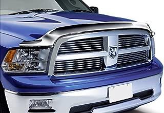 Razer Auto Truck Front Air Deflector Triple Chrome Plated Hood Guard Bug Deflector for 09-15 Dodge RAM 1500