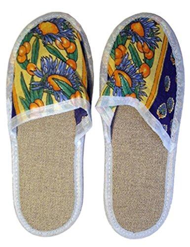 PERRIN 3484306570424 Patin Pantoufle 42/43, Multicolore, Taille Unique
