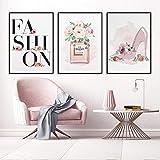 zsBig6 Mode Wandkunst Leinwand Gemälde Poster Parfüm