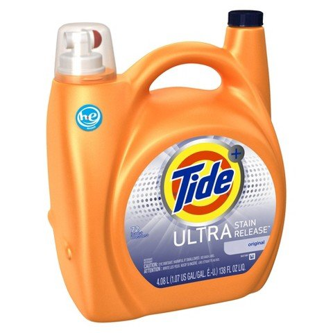 Tide Ultra Stain Release High Efficiency Liquid Laundry Detergent - 138 fl oz